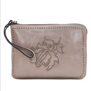 Patricia Nash Studded Distressed Cassini Wallet